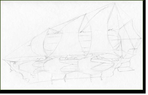 Движении рисунок карандашом поэтапно
